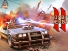 Versuchen Sie, in Zombie Derby 2 zu überleben und mit einem brutalen Auto