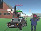 Zombie Farsh ist ein episches Autofahrspiel, das Rennen mit Zombie-Überlebense