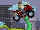 In diesem Spiel sind Sie auf der Flucht für die Zombies! Rennen auf Ihr Motorr