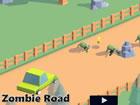 Zombie Road ist ein unterhaltsames 3D-Spiel in einer postapokalyptischen Welt.
