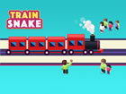 In Train Snake viel Spaß mit einem Zugspiel, das vom klassischen Schlange
