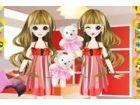 Schicken Sie diese schönen Zwillinge wählen sie einige ebenso stilvolle Kleid